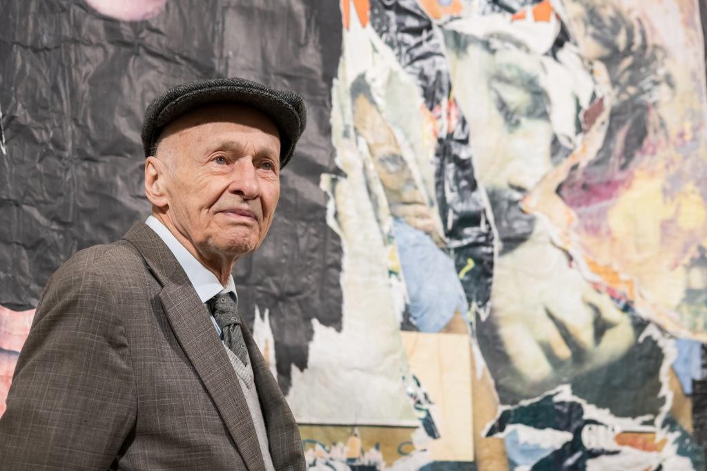 Jacques Villeglé, courtesy galerie Vallois